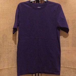 BCG purple crew neck tee